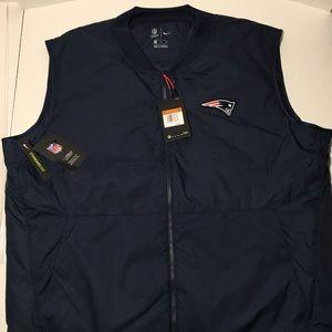 New England Patriots Nike Sideline Coach Vest XXL
